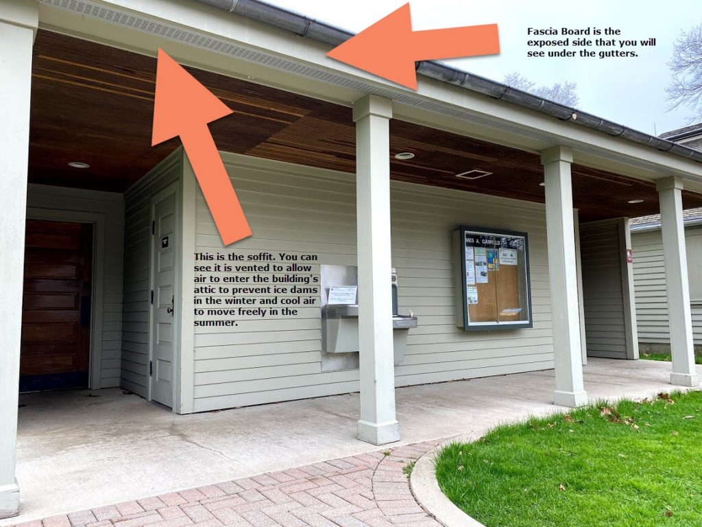 soffit and fascia difference